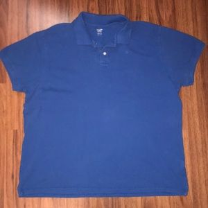 Men's old navy royal blue polo shirt
